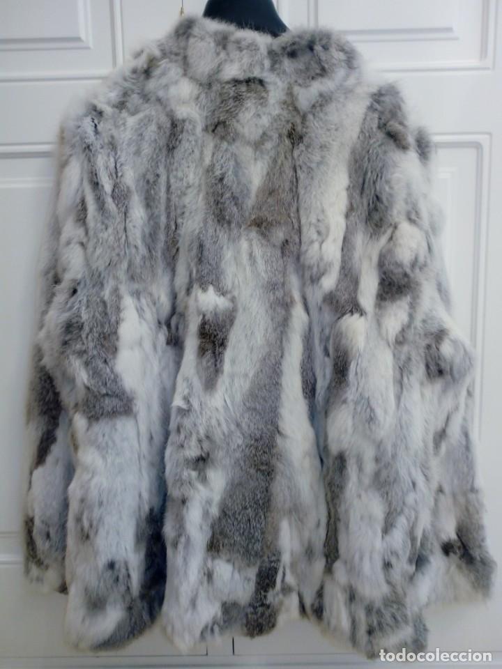 Vintage: Abrigo de piel de conejo sin estrenar - Foto 4 - 160612226