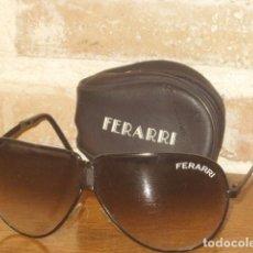 Vintage: GAFAS PLEGABLES FERRARI,AÑOS 70.. Lote 160725698