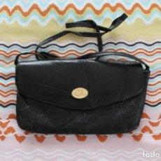Vintage: BOLSO MANO DE PIEL-AÑOS 70-80. Lote 160746334