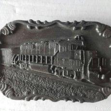 Vintage: HEBILLA DE CINTURÓN VINTAGE SISKIYOU. Lote 162105614