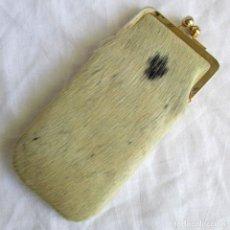 Vintage: FUNDA PARA GAFAS EN PIEL. Lote 162616414