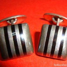 Vintage: GEMELOS DE PLATA 925 BAYANIHAN. Lote 163458762