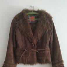 Vintage: CHAQUETA ORIGINAL PIEL. Lote 163742317