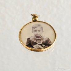 Vintage: COLGANTE ANTIGUO. Lote 163803309