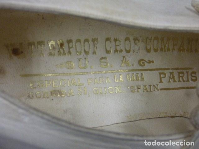 Vintage: zapatos de novia años 20 hechos en USA vendidos en tienda Gijon - Foto 3 - 164307018