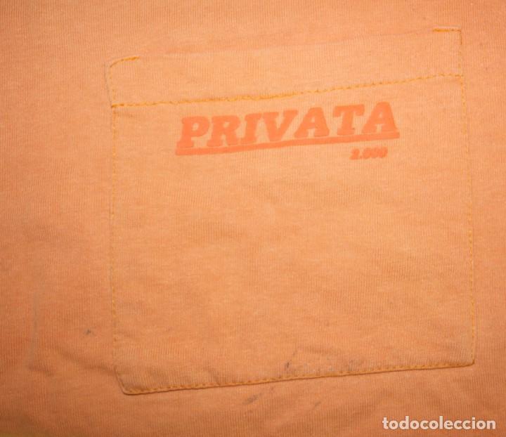 Vintage: Camiseta PRIVATA naranja, años 80 - Foto 2 - 165045170