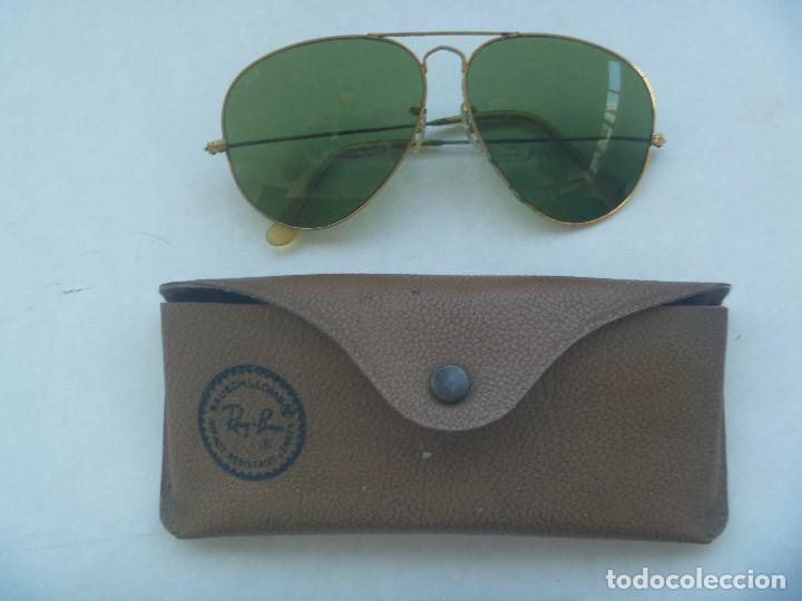 lentes ray ban aviator usados