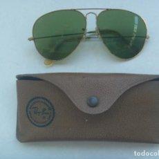 Vintage: GAFAS RAY BAN EN SU FUNDA . VIEJAS Y USADAS. Lote 166838730