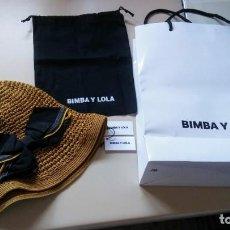 Vintage: SOMBRERO, Y BOLSA DE TELA BIMBA LOLA. Lote 167125784