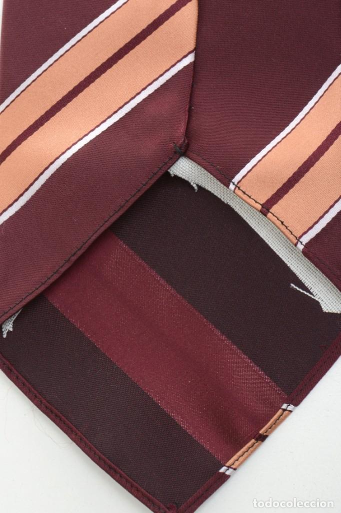Vintage: Corbata de los años 70 morada con rayas, moda hombre, corbata 60, corbata 70, sixties - Foto 13 - 167126936