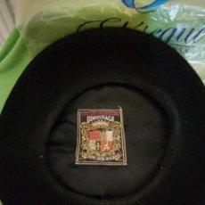 Vintage: ANTIGUA CHAPELA BOINA GOROSTIAGA VÍCTOR N9 BILBAO. Lote 167550153