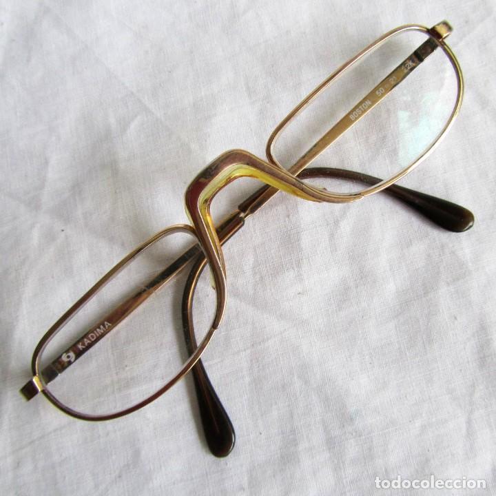 nueva apariencia 60% de descuento seleccione para auténtico Gafas para ver de cerca Kadima, chapadas en oro