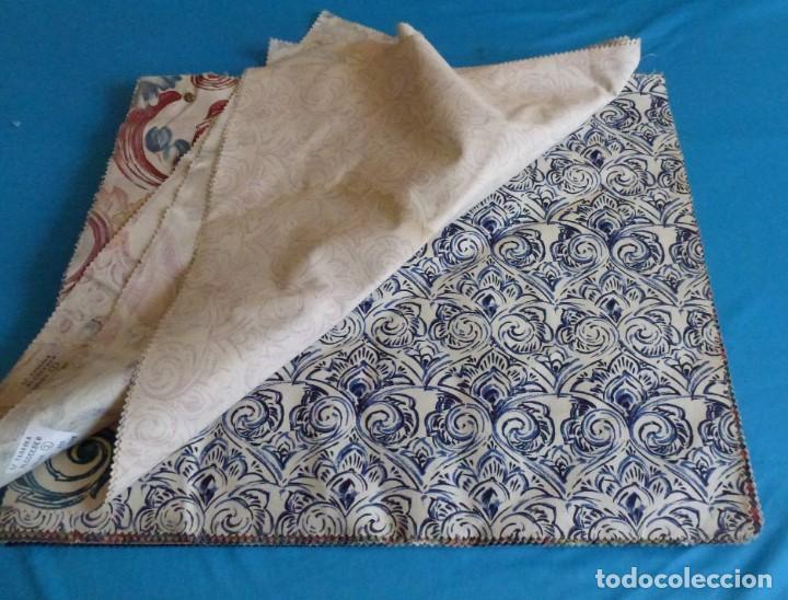 Vintage: 40 retales de tela de muestrario.52 x 43 cm. - Foto 3 - 168523912