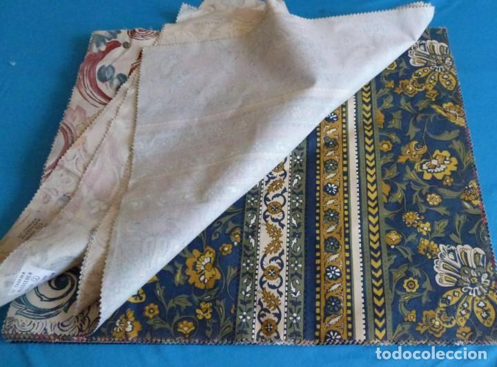 Vintage: 40 retales de tela de muestrario.52 x 43 cm. - Foto 4 - 168523912