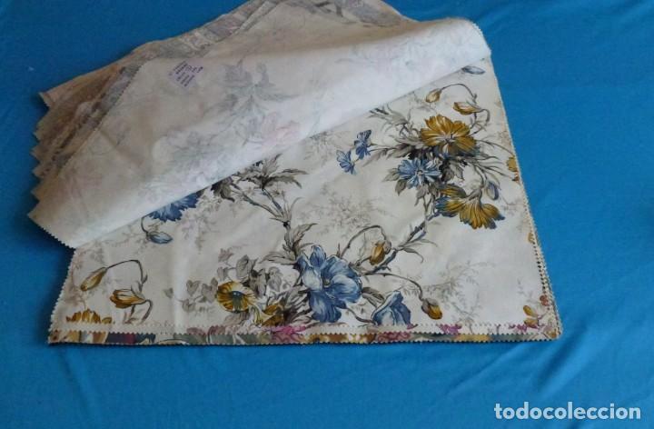 Vintage: 40 retales de tela de muestrario.52 x 43 cm. - Foto 7 - 168523912