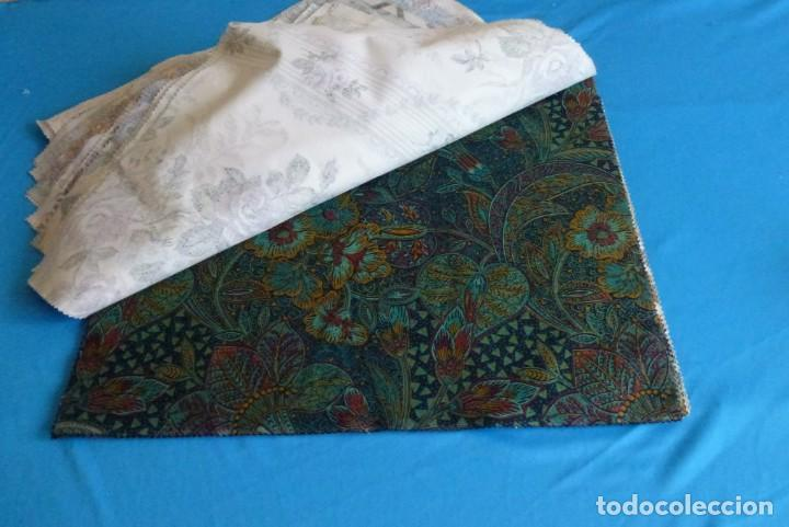 Vintage: 40 retales de tela de muestrario.52 x 43 cm. - Foto 10 - 168523912