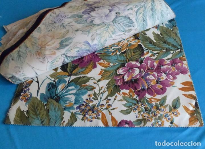 Vintage: 40 retales de tela de muestrario.52 x 43 cm. - Foto 11 - 168523912