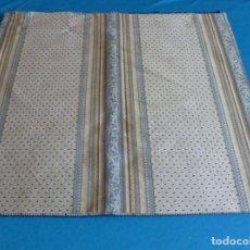 Vintage: 11 RETALES DE TELA DE MUESTRARIO.70 X 60 CM.. Lote 168523928