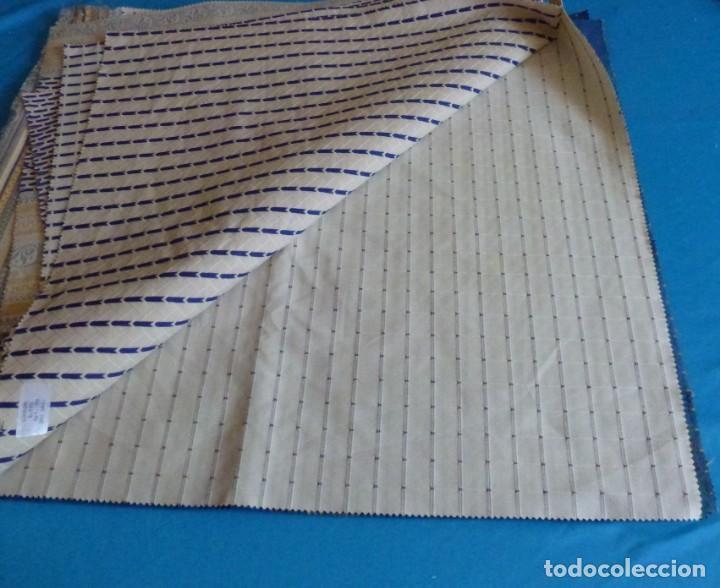 Vintage: 11 retales de tela de muestrario.70 x 60 cm. - Foto 5 - 168523928