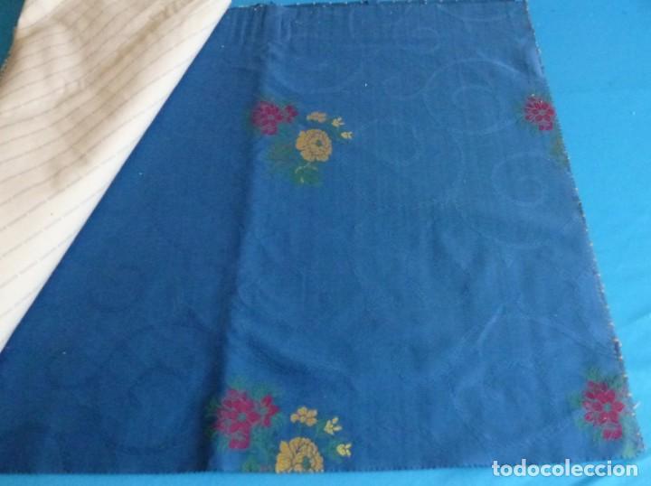 Vintage: 11 retales de tela de muestrario.70 x 60 cm. - Foto 6 - 168523928