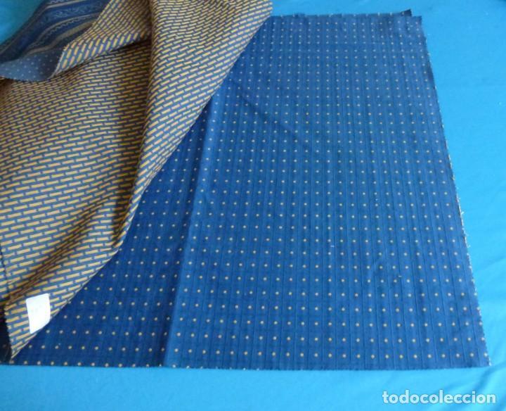 Vintage: 11 retales de tela de muestrario.70 x 60 cm. - Foto 9 - 168523928