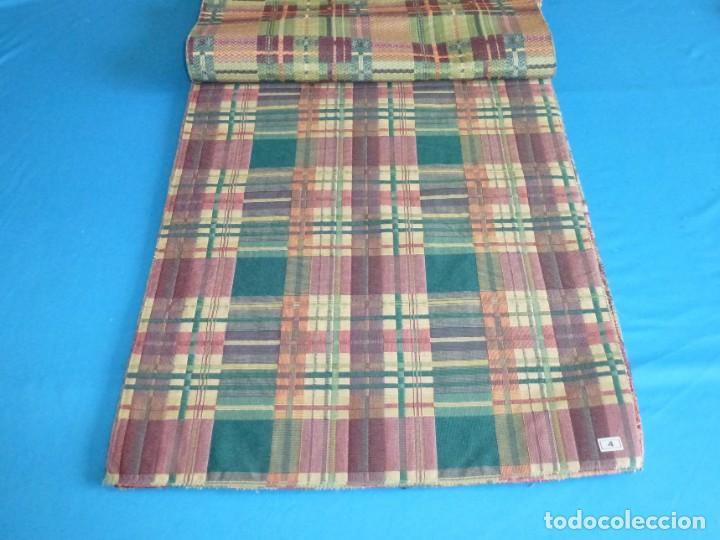 Vintage: 8 retales de tela de muestrario.65 x 40 cm. - Foto 3 - 168523964