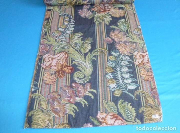 Vintage: 8 retales de tela de muestrario.65 x 40 cm. - Foto 7 - 168523964