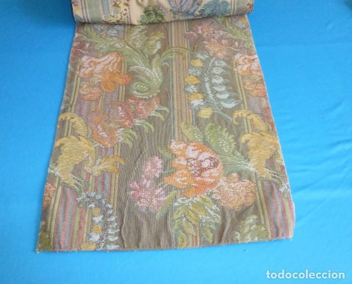 Vintage: 8 retales de tela de muestrario.65 x 40 cm. - Foto 8 - 168523964