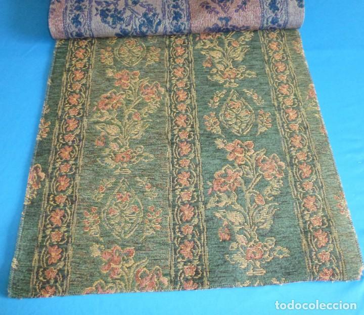Vintage: 8 retales de tela de muestrario.50 x 44 cm. - Foto 7 - 168523980
