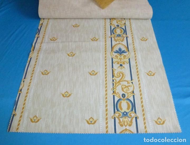 Vintage: 12 retales de tela de muestrario.52 x 46 cm. - Foto 11 - 168523996