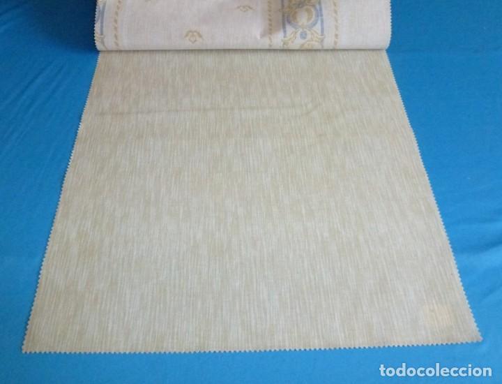 Vintage: 12 retales de tela de muestrario.52 x 46 cm. - Foto 12 - 168523996