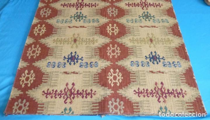 Vintage: 4 retales de tela de muestrario.67 x 67 cm. - Foto 2 - 168524020