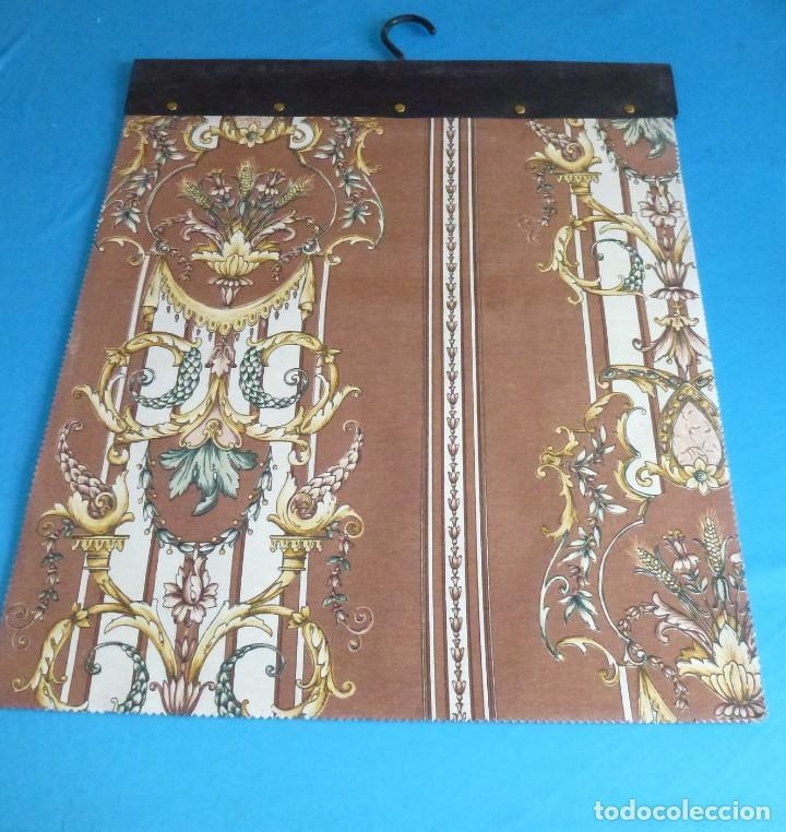 Vintage: 35 retales de tela en 4 muestrarios.50 x 45 cm. - Foto 6 - 168524072