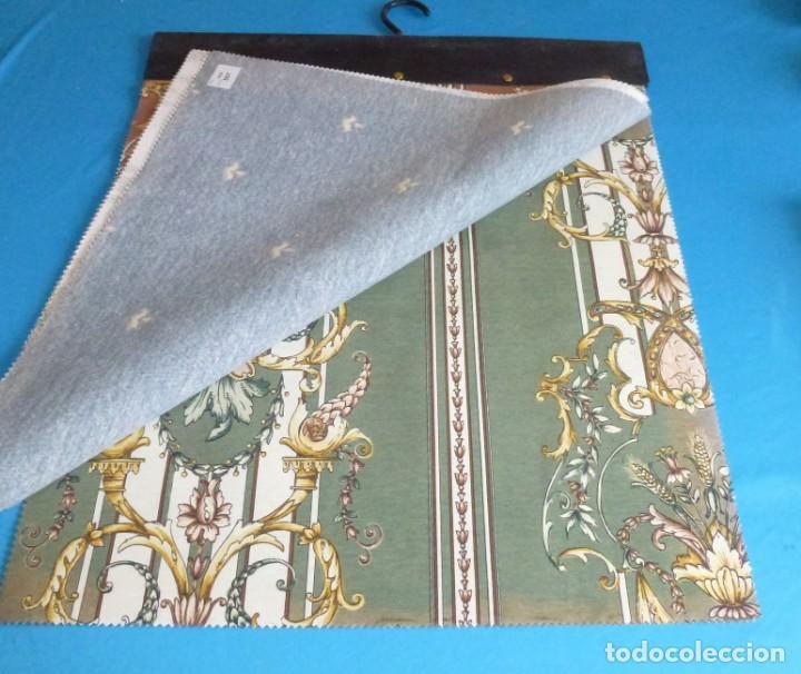 Vintage: 35 retales de tela en 4 muestrarios.50 x 45 cm. - Foto 8 - 168524072