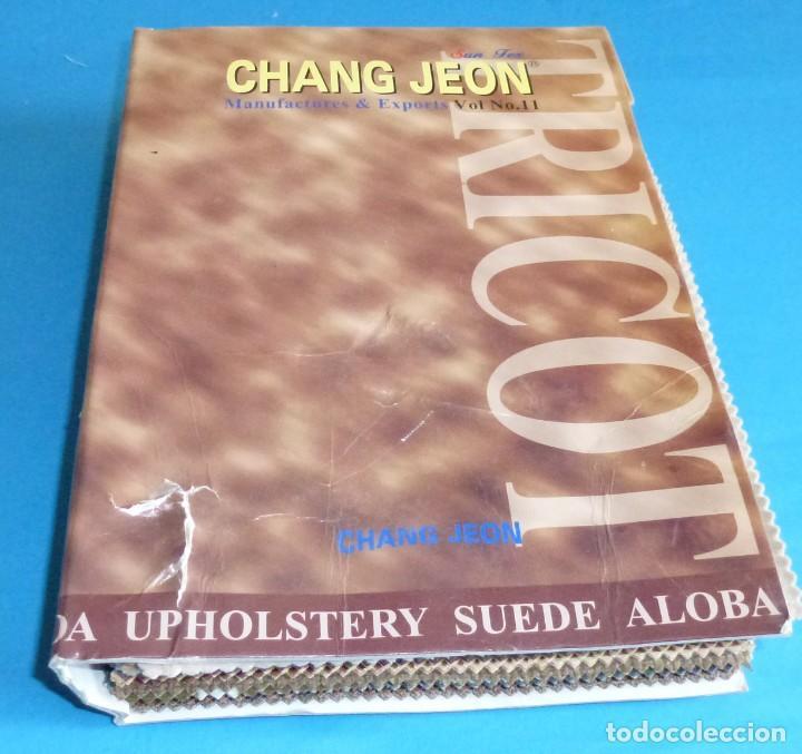 Vintage: 6 muestrarios de telas.Paduana - Ross - Chang Jeon...... - Foto 2 - 168524168
