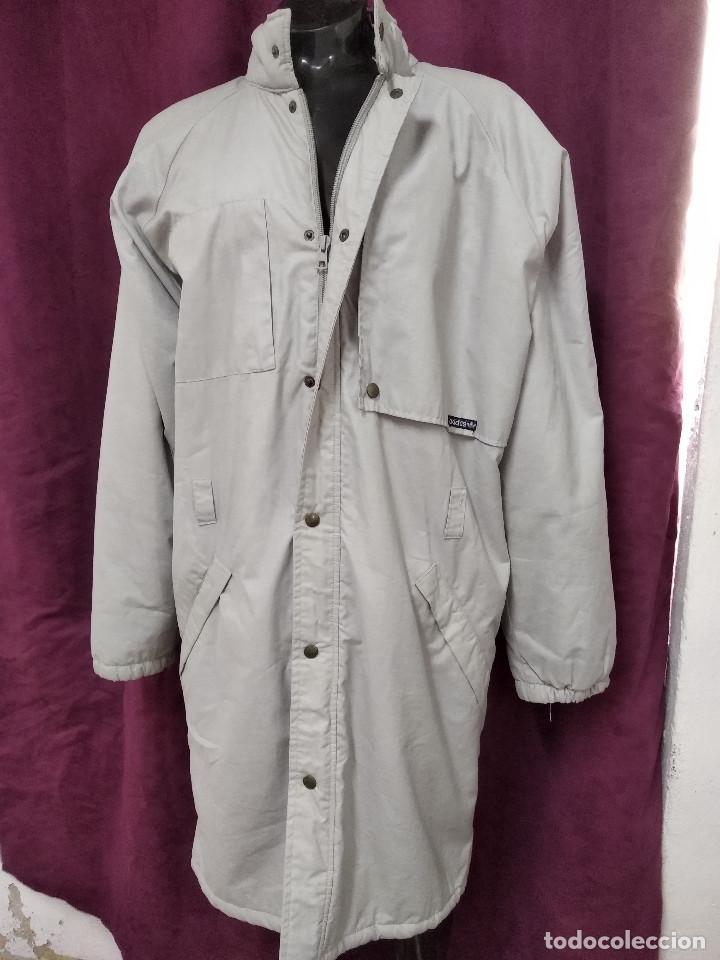 Adidas, Chaqueta o Tres Cuartos Vintage, deportiva, 1980´s, algodón y  poliéster