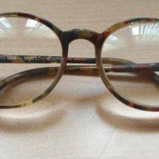 Vintage: U20 GAFAS REDONDEADAS PASTA CAMPUS 804 - 56 / 17. Lote 169332720