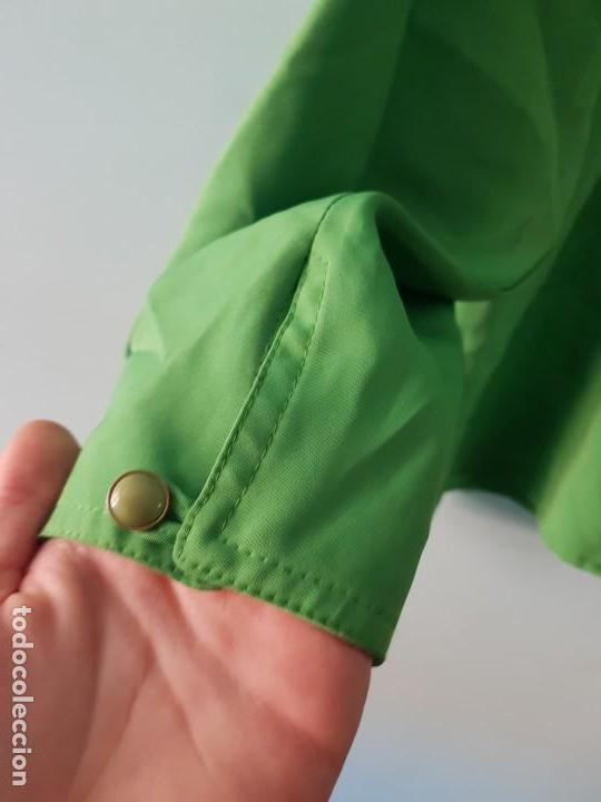 Vintage: Blusa manga larga vintage color verde esmeralda - Foto 5 - 169566552