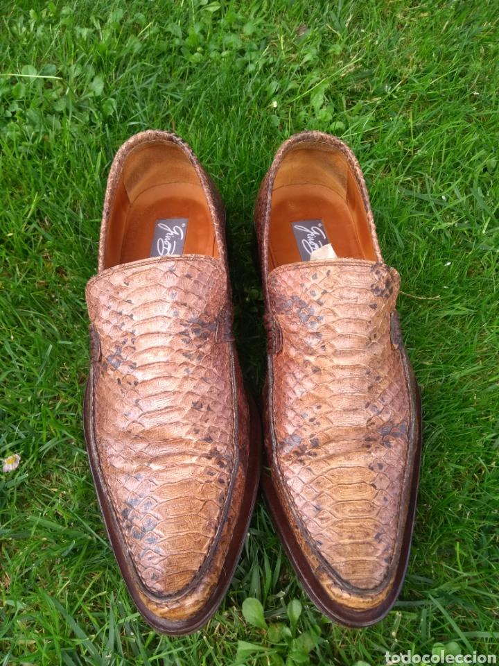 Vintage: Zapatos de piel Gino Bianchi - Foto 2 - 169727913