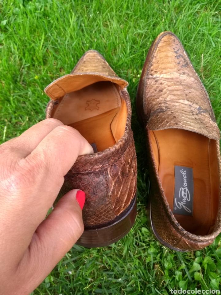 Vintage: Zapatos de piel Gino Bianchi - Foto 6 - 169727913