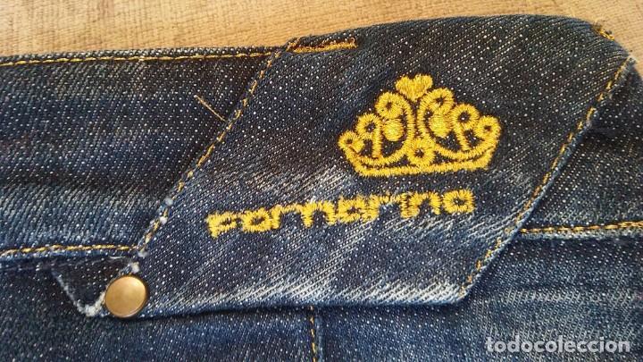 Vintage: Falda fornarina vaquera - Foto 3 - 171095320