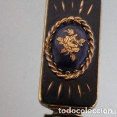 Vintage: PINTALABIOS CON ESPEJO DE LOS AÑOS 20 CON UNA ROSA . Lote 171142589