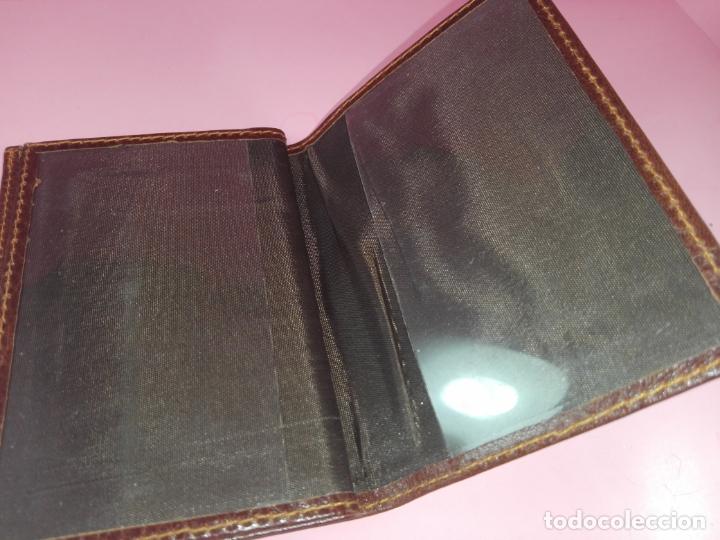 Vintage: Cartera/Billetera-Piel?-11,5X8 cms-Como nueva-Ver fotos - Foto 2 - 171150125
