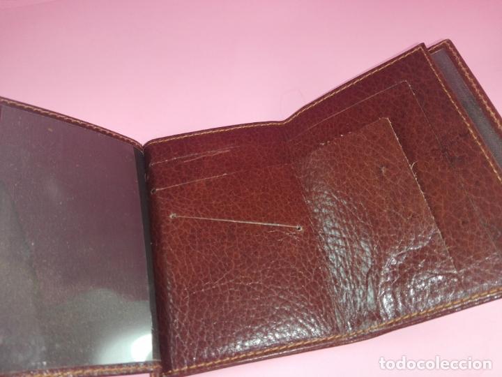 Vintage: Cartera/Billetera-Piel?-11,5X8 cms-Como nueva-Ver fotos - Foto 5 - 171150125