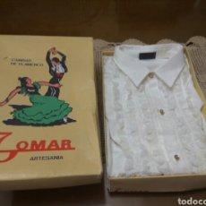 Vintage: ARTESANÍA CAMISA DE FLAMENCO.TALLA 32 NUEVA. Lote 171256662