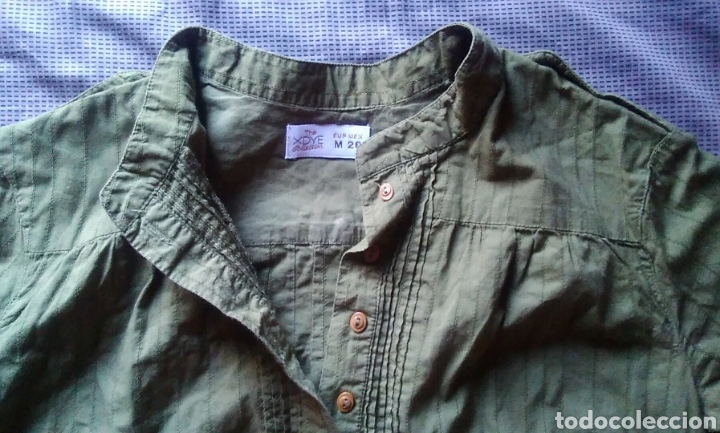 Vintage: Camisa blusa pull and bear talla m - Foto 3 - 171313419
