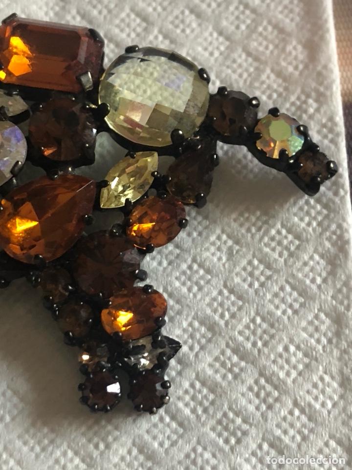 Vintage: Precioso broche vintage Ámbar y cristales, gran tamaño - Foto 7 - 171954367