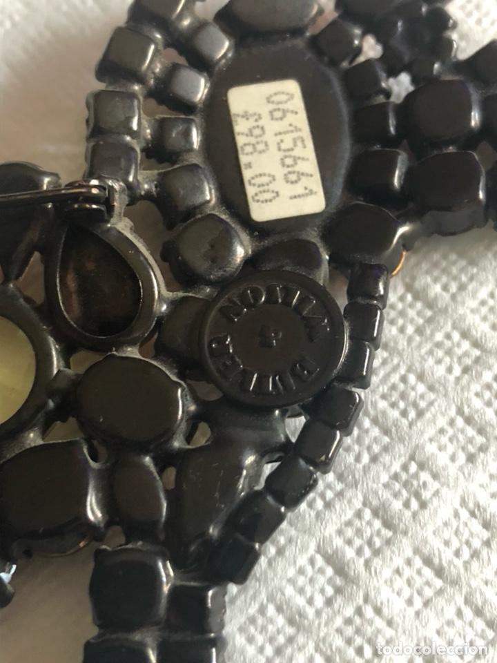 Vintage: Precioso broche vintage Ámbar y cristales, gran tamaño - Foto 10 - 171954367