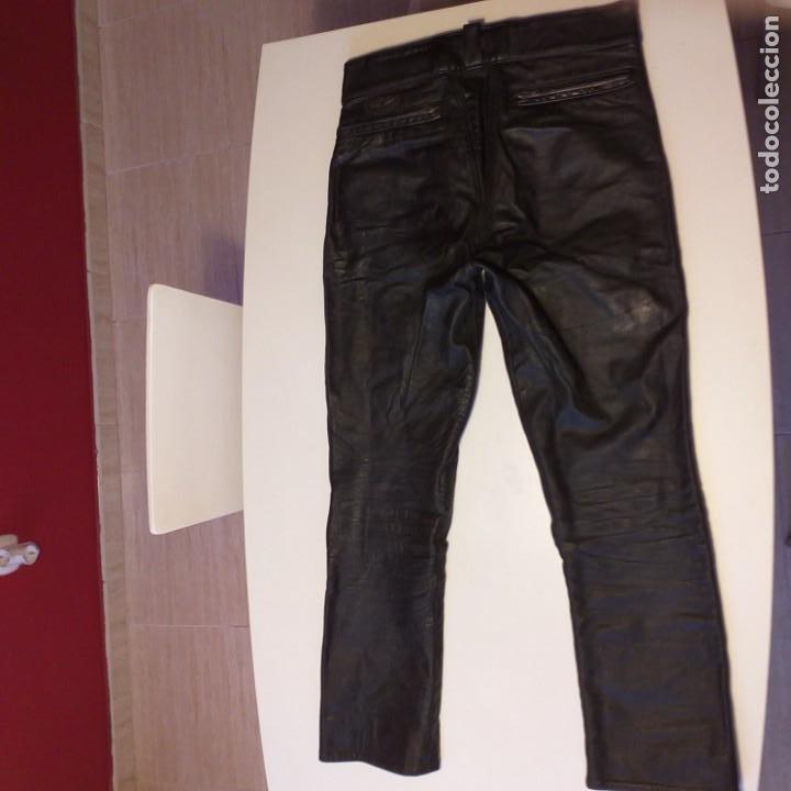 Vintage: El mítico pantalón cuero Aviakit de Lewis Leathers. Años 70. - Foto 2 - 172025522