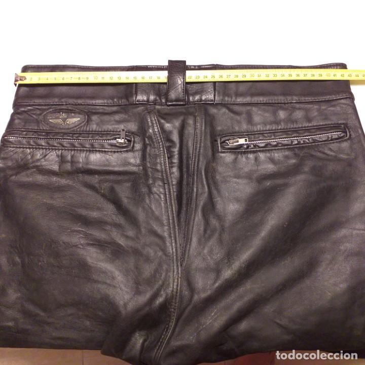Vintage: El mítico pantalón cuero Aviakit de Lewis Leathers. Años 70. - Foto 3 - 172025522